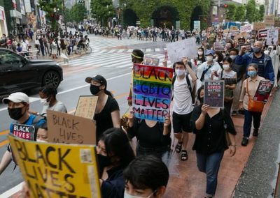 'Racism is here and it hurts': Inside Tokyo's Black Lives Matter Movement