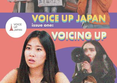 Voice Up Japan creates its very first magazine